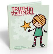 The last day of July?! Already?! Celebrate a final Christmas in July with 20% off #TruthTinsel for my Pinterest friends. Use code: PINTERESTROCKS expires: midnight tonight!: Holiday, For Kids, Tinsel, Christmas Advent, Advent Calendar, Truths, Advent Ideas, Advent Book, Advent Experience