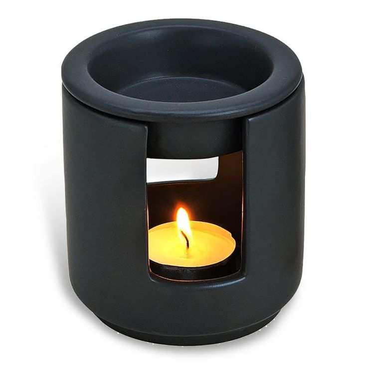 "Amazon.de: HC-Handel 934088 Duftlampe ""Kamin"" aus Keramik 10 x 9 cm weiß oder schwarz"