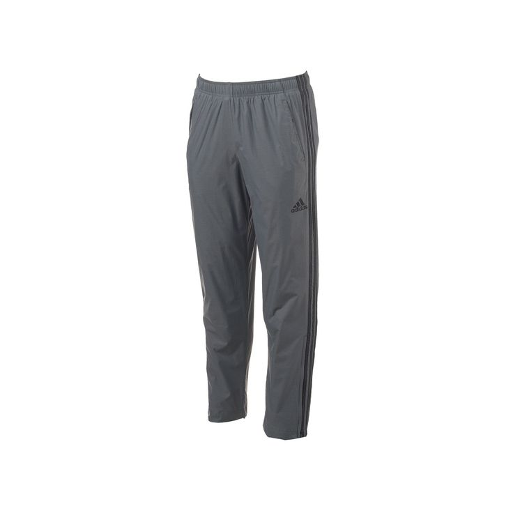 Big & Tall Adidas Woven Track Pants, Men's, Size: Xl Tall, Med Grey