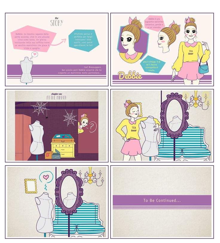 it's all about stories... la nostra si chiama: THD comic strip!