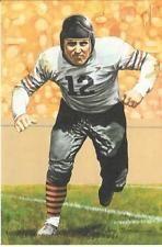 LINK LYMAN CHICAGO BEARS NFL LIMITED EDITION HALL OF FAME GOAL LINE ART CARD