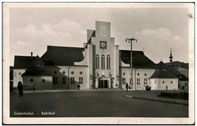 Gotenhafen - Bahnhof Gdynia Dworzec Wyd. Alfred Jurgens