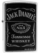 24779 Jack Daniel'S Label cheap zippo lighter for sale