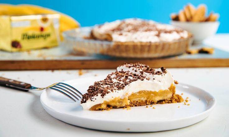 Banoffe pie er en usannsynlig god «no bake»-kake som ikke trenger et eneste sekund i ovnen. Prøv en enkel versjon av banoffe pie!