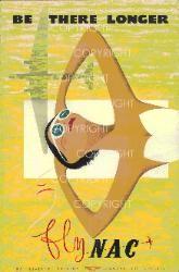 NAC art by New Zealand artist Linwood Lipanovic, mid 1950s