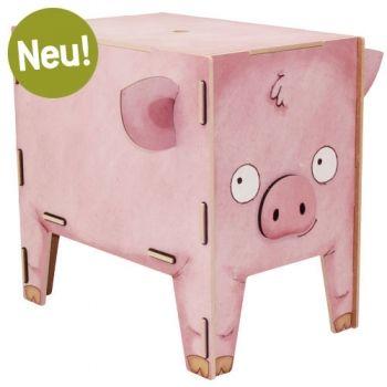 Werkhaus Shop - Hocker Vierbeiner - Schwein