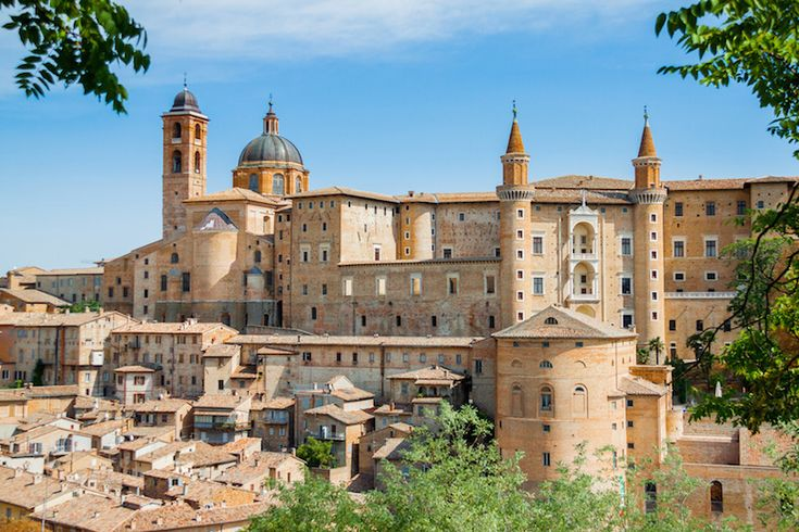 The marvelous historic center of Urbino, listed as a UNESCO World Heritage Site.