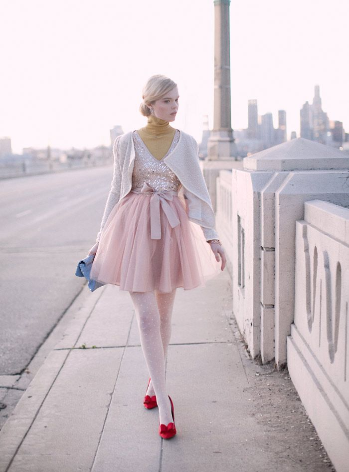 Like a ballerina at KG Street Style