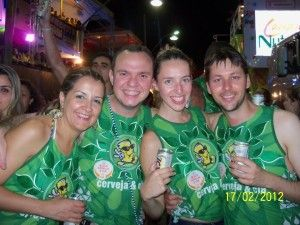 """Being a """"gringo"""" at the Carnival in Bahia"""
