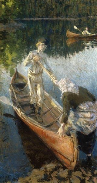 The Midsummer Night - 'Midsommarnatt'  1889  Akseli Gallen Kallela