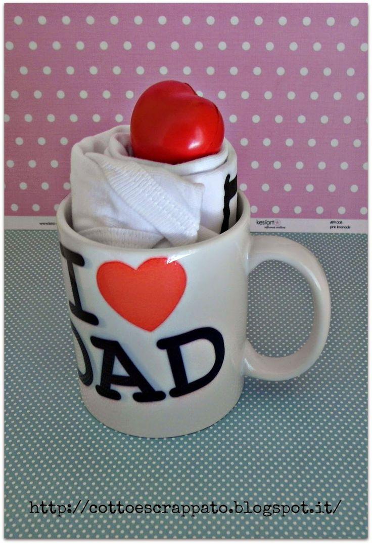 """Cotto e Scrappato: Con un anno di ritardo... la """"Prima Festa del Papà..."""