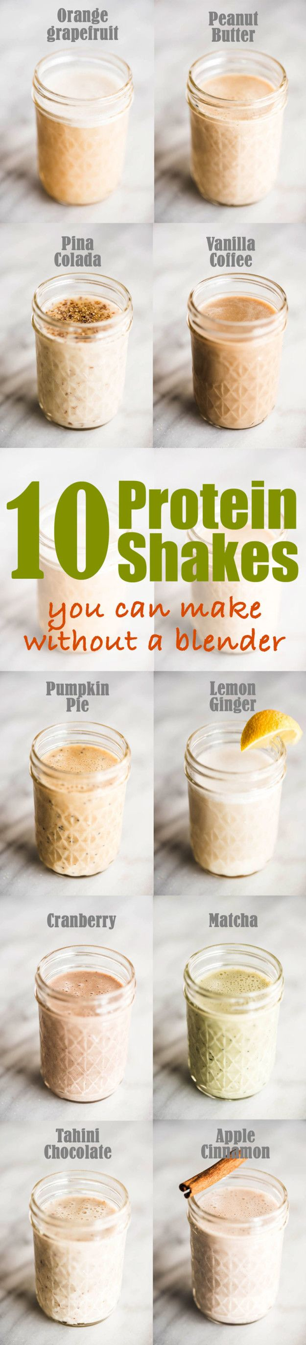 No Blender Protein Shakes | 10 Food Hacks To Help You Achieve Your Summer Fitness Goals Without Even Trying