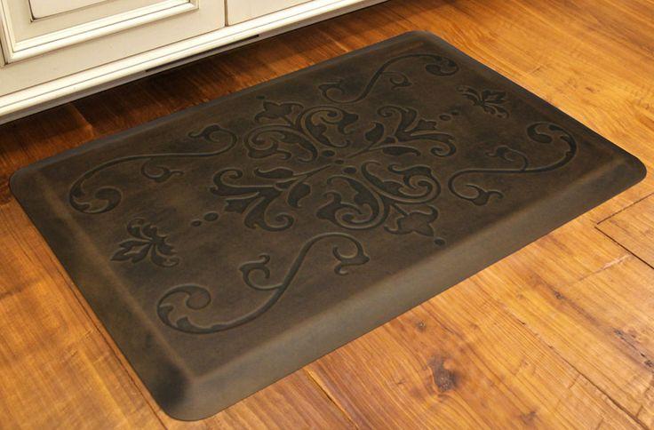 Kitchen Apple Motif Fatigue Floor Mats