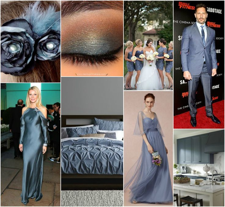 """Polish blogger Maria analyses shades of blue right for each season type:   steel blue.  """"For Light Summer, True Summer, Soft Summer, True Winter. Perhaps for Soft Autumn. """""""
