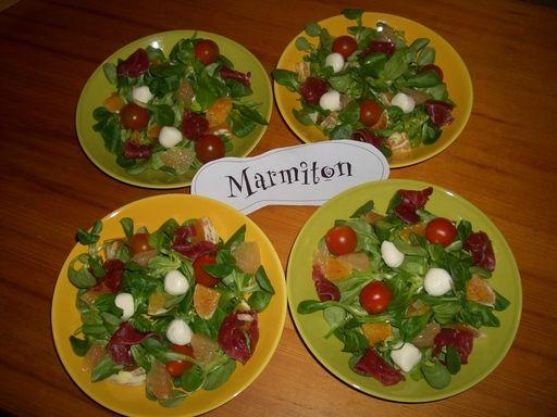 Recette de Salade vitaminée