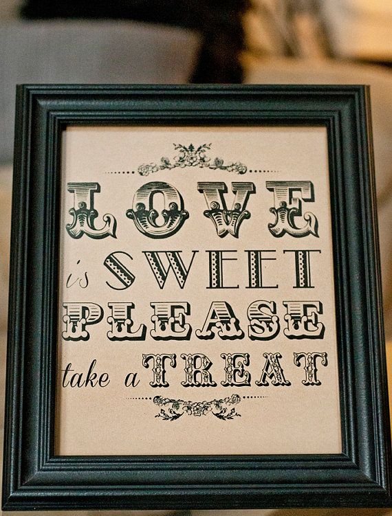 INSTANT DOWNLOAD 8 x 10 Love is sweet Please by freshlovecreations, $7.00