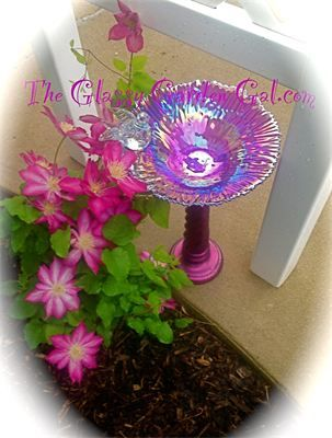 Glass Garden Dragonfly Totem : One of my personal pieces- SOLD