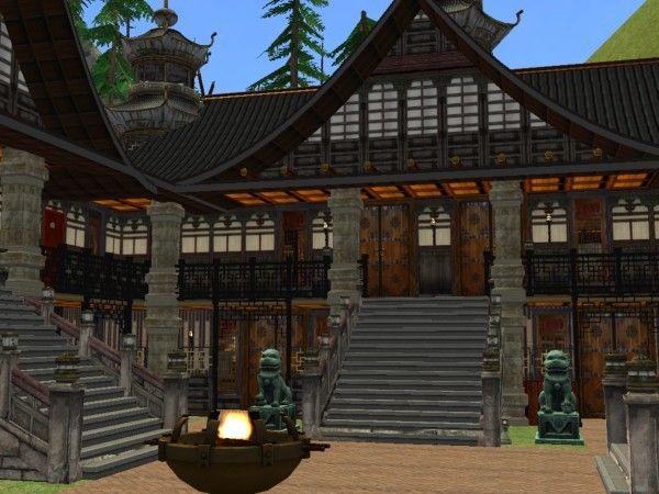 Asian Monastery