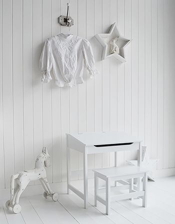 Children's white bedroom furniture from Cottage Kids at The White Lighthouse