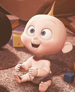 Jack Jack! One of the cutest animated babies ever!!!