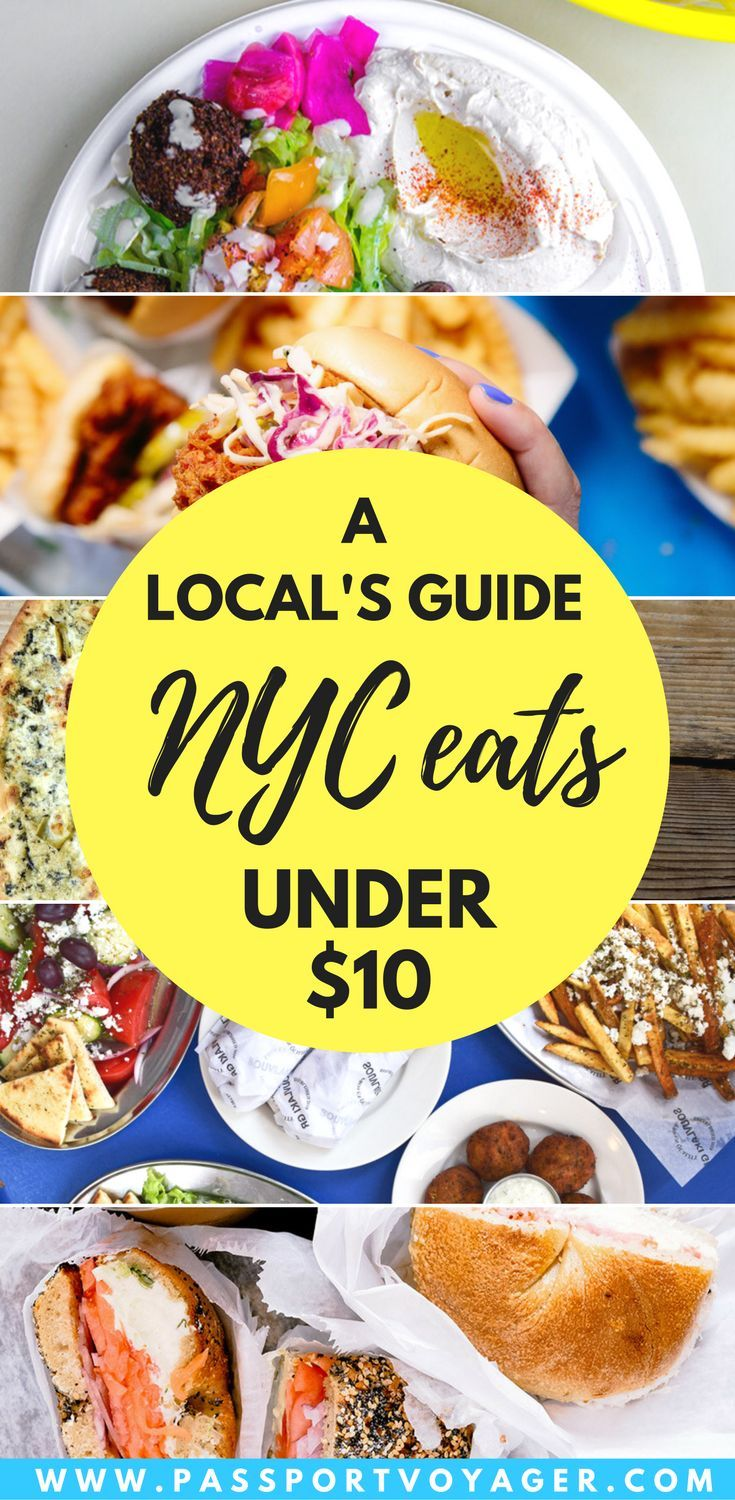 Is It Possible To Eat Well In Nyc On A Budget Yes This Insider Guide 20 Of The Best Places New York C City