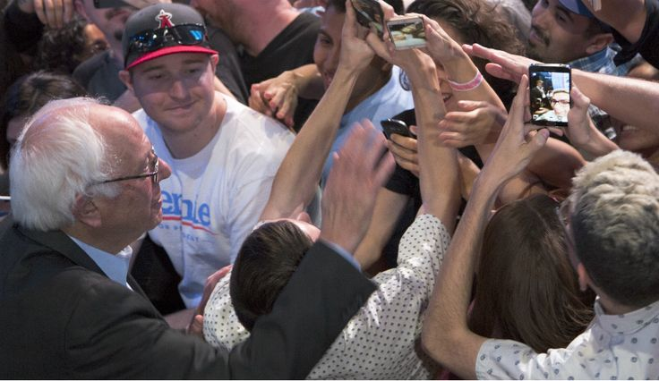 Election 2016: Bernie Sanders Trending With #SandersOnAPlane — Lindsey Graham, George Pataki Drop Out Of Race