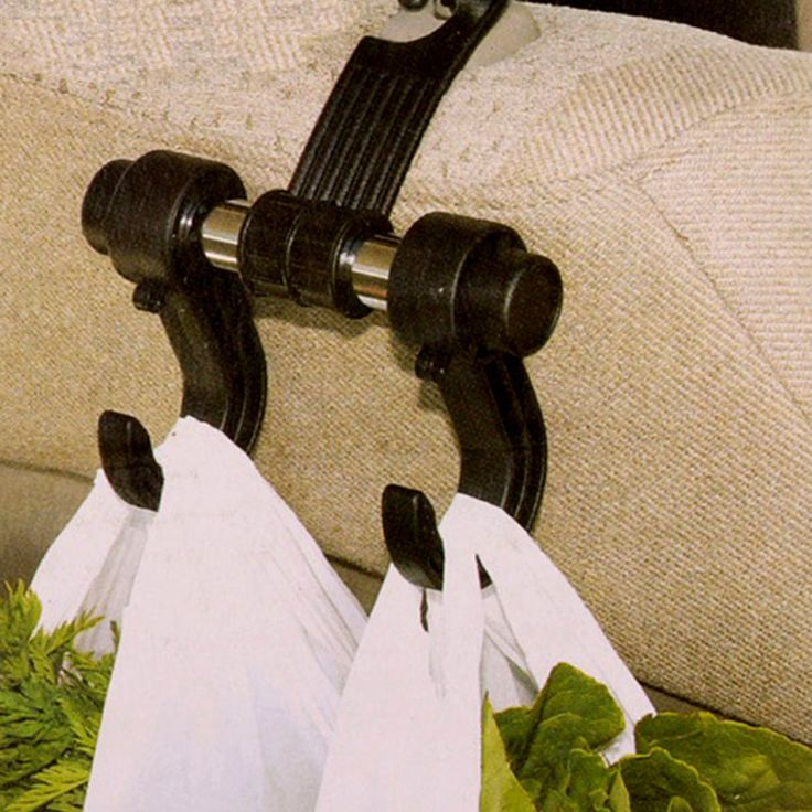 Universal Car Auto Assento Encosto de Cabeça Gancho Saco Titular Gancho para Bolsa do Saco de Pano de Armazenamento de Supermercado Auto Fastener Clipe