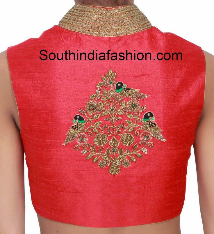 zardosi_work_high_neck_blouse.jpg (1154×1261)