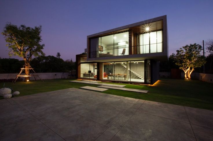 W House in Nakhon Ratchasima by IDIN Architects