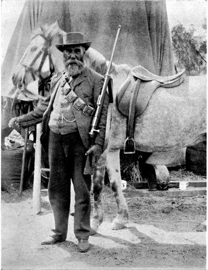 Boer General Snyman by Unknown Artist