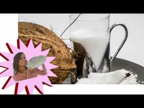 Latte di Mandorle - Come farlo in Casa - Le Ricette di Alice - YouTube