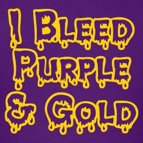 LSU Tigers! YEASSSS, yall need to bleed PURPLE & GOLD TOOO!!!! BEST