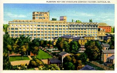 Suffolk, Virginia... As I Remember it: Planters Nut & Chocolate Co., Suffolk, Virginia