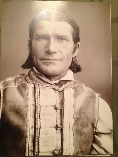 """Pavel Sochan 9x13 Black & White Photograph Slovakia """"Farmer From Jasenová"""""""
