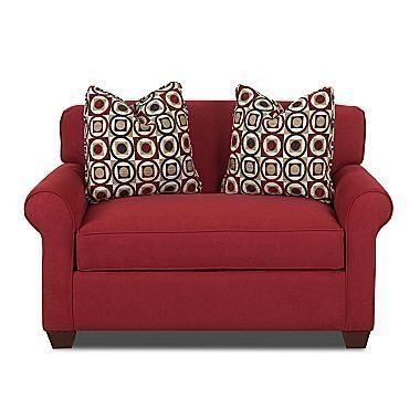 Affordable Sleeper Chairs & Ottomans small space solutions | Apartment Therapy (This one is from JC Penny)