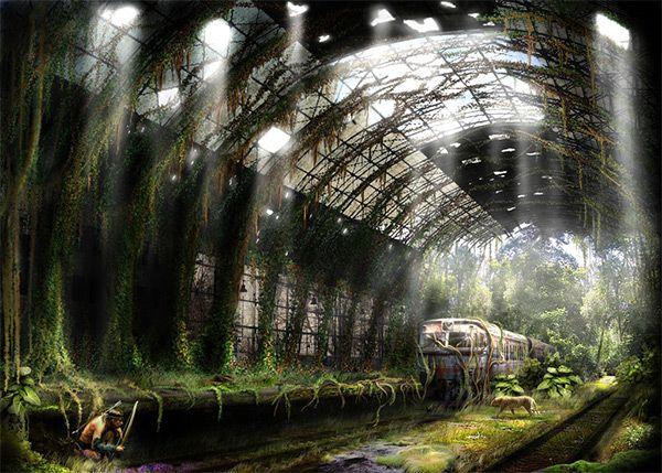 Hunters in Stunning Post Apocalypse Artworks