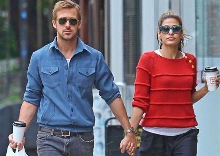 Waarom Eva Mendes nooit meegaat met Ryan Gosling op de rode loper
