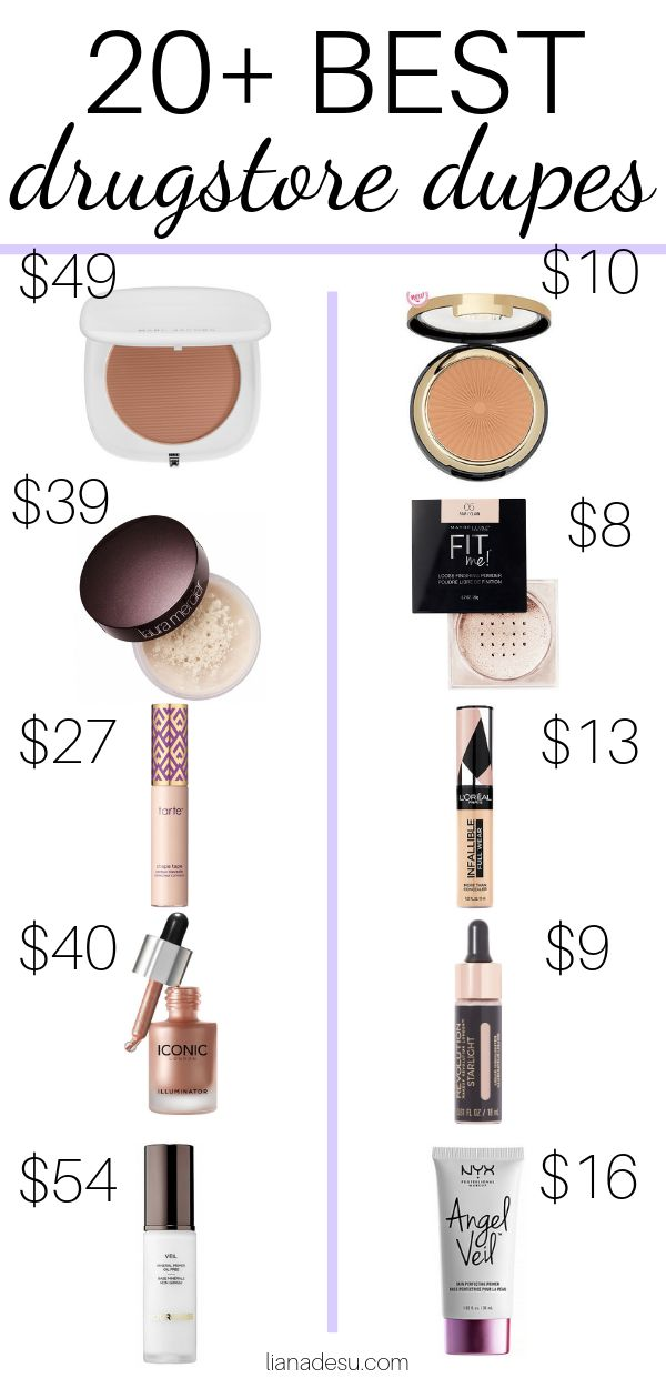 20+ Best Drugstore Makeup Dupes – The Ultimate List