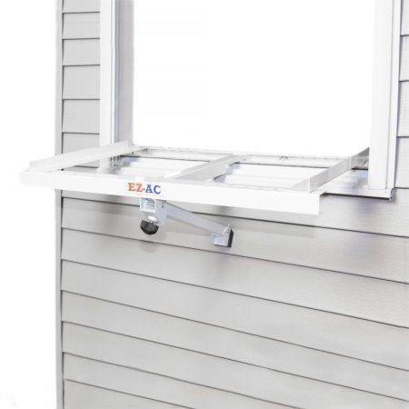 EZ-AC Air Conditioner Support Bracket, White