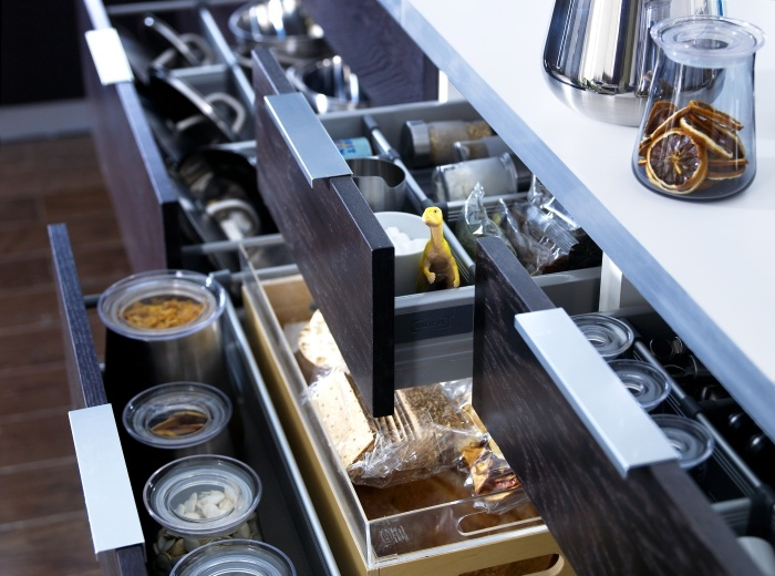 Ikea Grundtal Light Replacement Bulb ~   draws  Organised! Just love Ikea's RATIONELL VARIERA drawer dividers