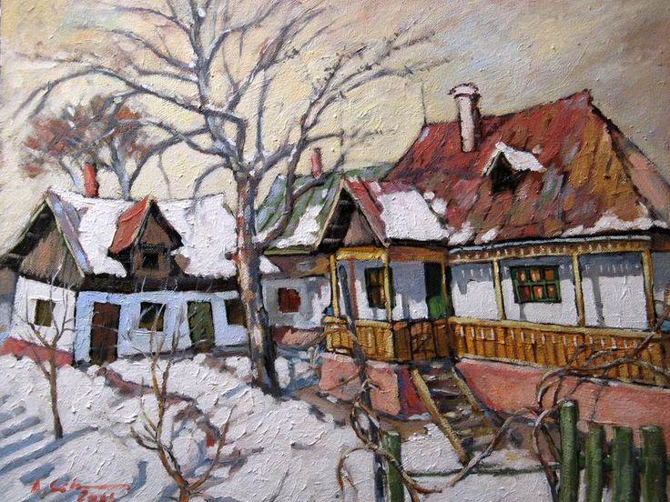 David Croitor. Iarna