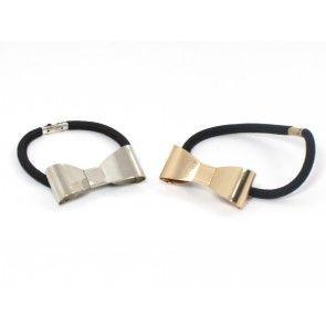 Simple, cute and elegant hair elastics Bow Clip Hårelastik
