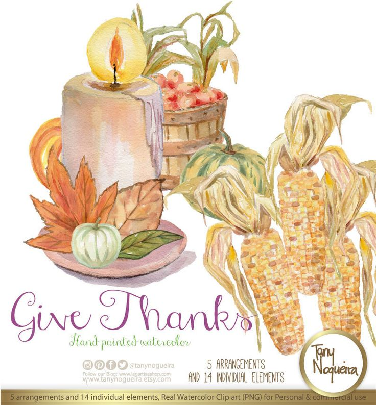 Give Thanks, Dia de Gracias,Shabby Chic Accion de Gracias Otoñal PNG fondo transparente y JPG tarjetas invitaciones blog acuarela de TanyNogueira en Etsy https://www.etsy.com/mx/listing/485219389/give-thanks-dia-de-graciasshabby-chic