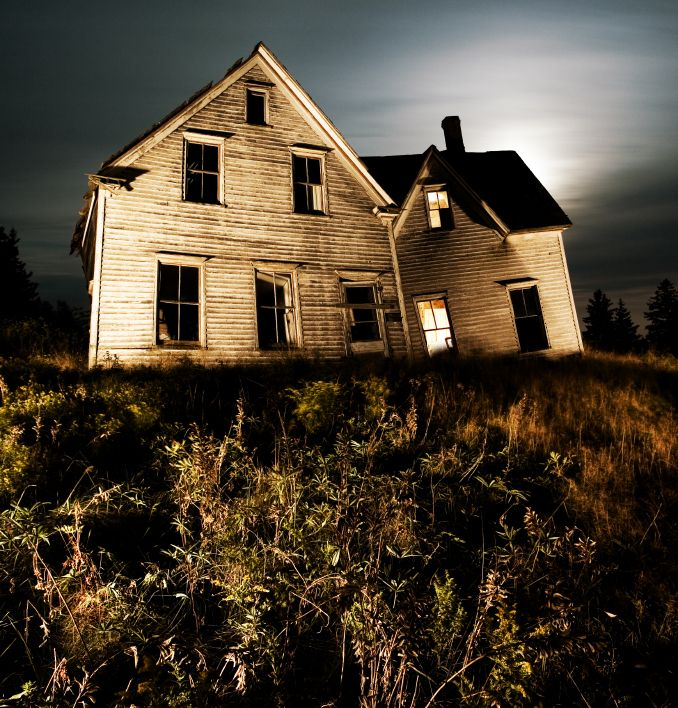 Haunted House, Fort Wayne, Indiana, USA. People Insisted