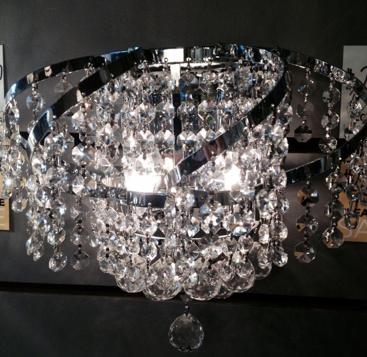 #livinglighting #crystal #gravenhurst #sparkle #lighting #sconce