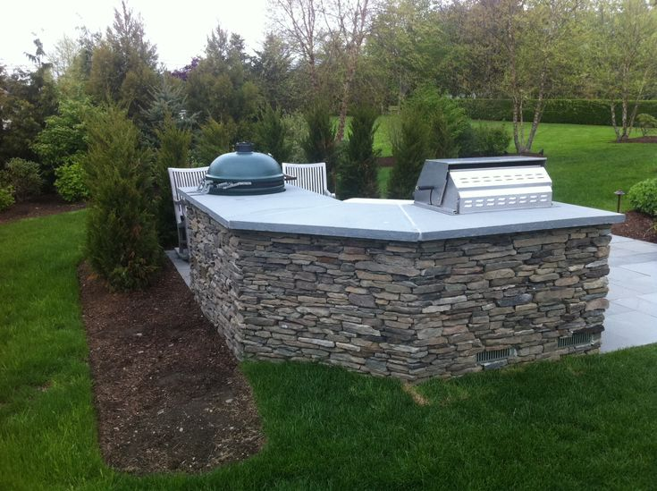 Weston Ma Outdoor Kitchen  Pool At 5 Country  Pinterest New Outdoor Kitchen Countertops Decorating Design