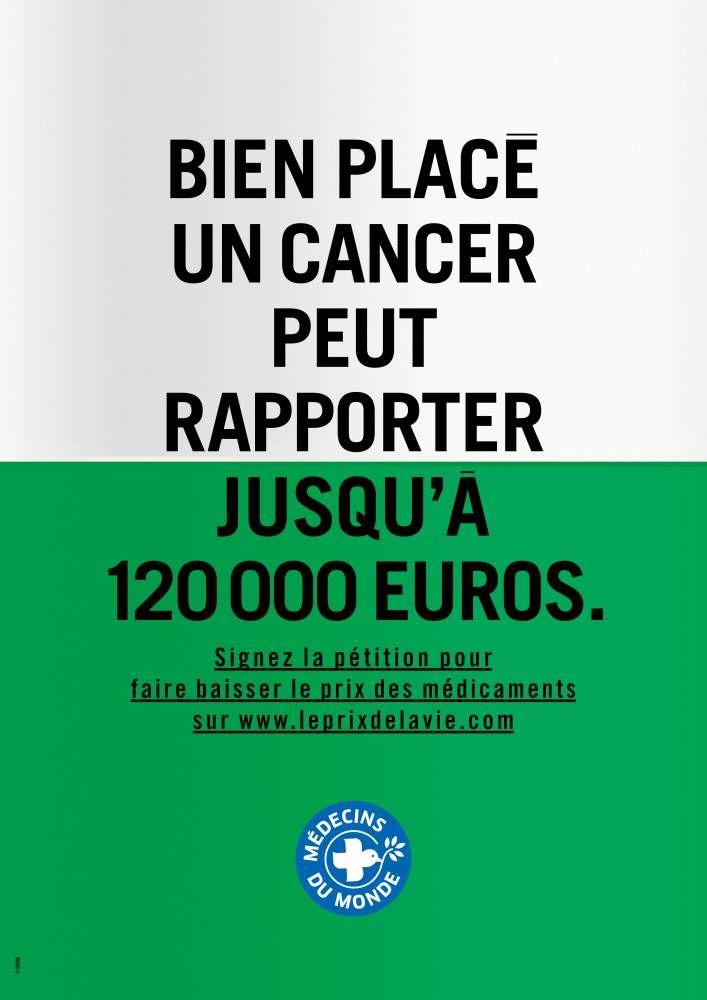 Une campagne-choc contre les labos pharmaceutiques, qui devait débuter lundi, a été refusée par l'Autorité de régulation professionnelle de publicité (ARPP).