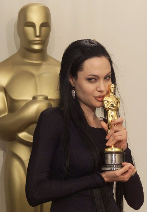 "Angelina Jolie - Best Supporting Actress Oscar for ""Girl, Interrupted"" (1999)"