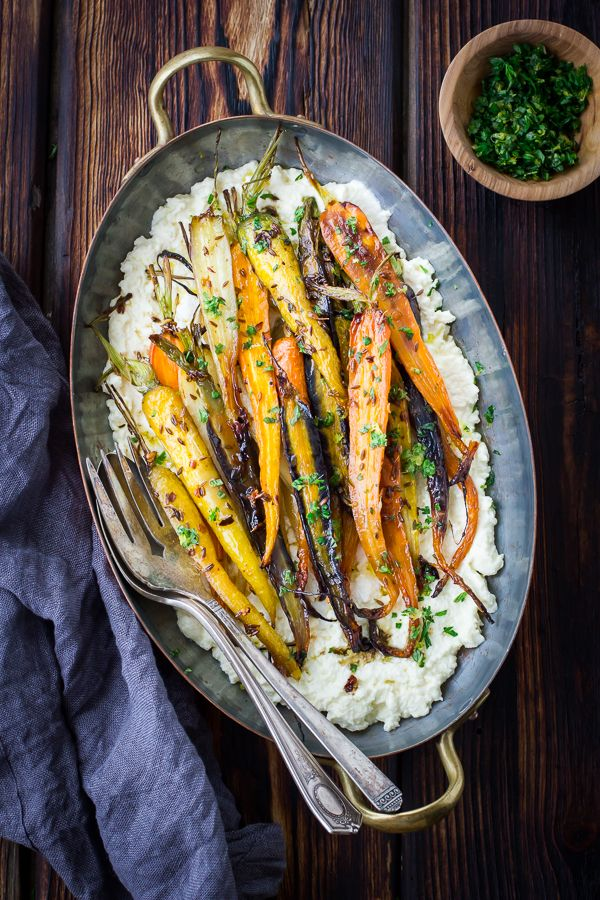 The Bojon Gourmet: Cumin and Honey Roasted Carrots, Ricotta, and Gremolata