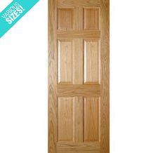 Deanta Oxford Pre-Finished Internal Oak Door